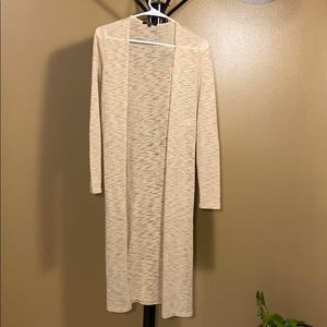 Ambiance. Small, long sleeve duster cardigan